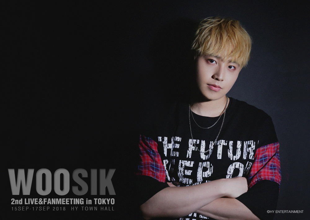 WOOSIK 2nd LIVE&FANMEETING in TOKYO