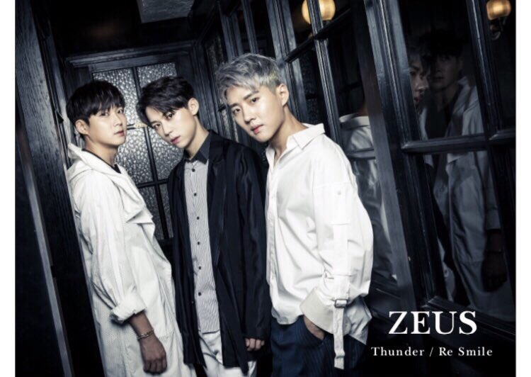 ZEUS「Thunder / Re smile」