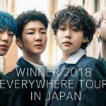 WINNER 2018 EVERYWHERE TOUR IN JAPAN