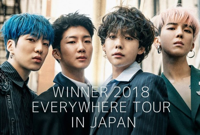 WINNER 2018 EVERYWHERE TOUR IN JAPAN