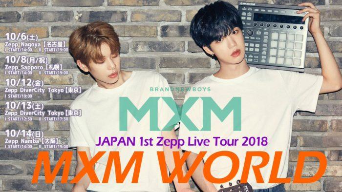 「MXM Japan 1st Zepp Tour MXM WORLD」