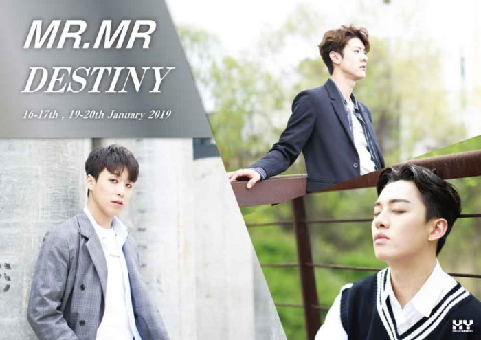 MR.MR 2019 LIVE -DESTINY-