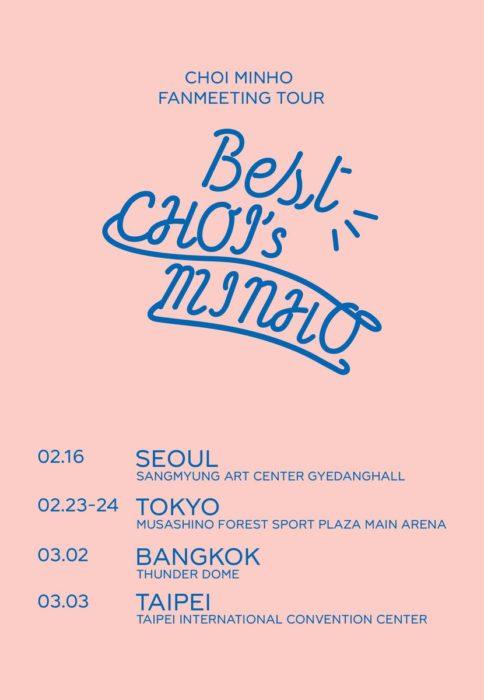 "「CHOI MINHO FANMEETING TOUR ""Best CHOI's MINHO""」"