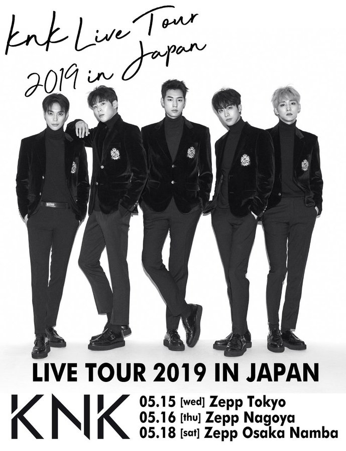 KNK LIVE TOUR 2019 IN JAPAN