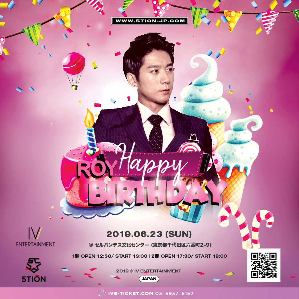 5tion LIVE ROY Birthday