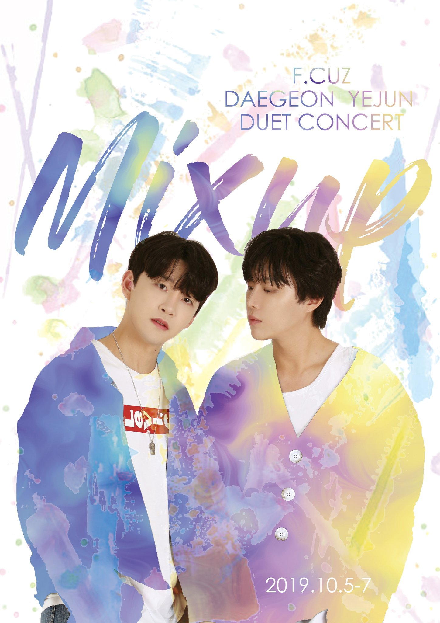 F.CUZ DAEGEON-YEJUN DUET CONCERT 'MIX UP'