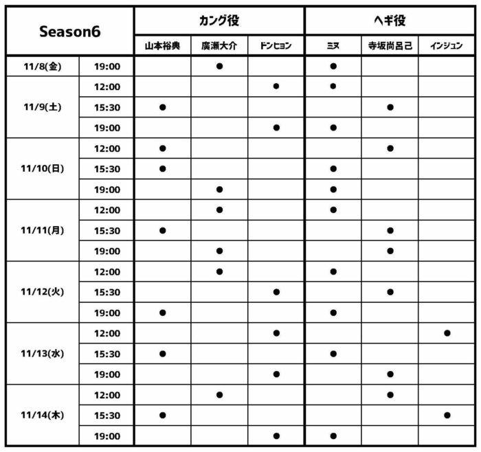 マイ・バケットリスト Season6