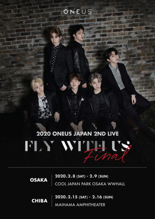 2020 ONEUS JAPAN 2ND LIVE : FLY WITH US FINAL