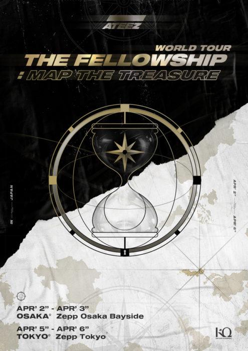 「ATEEZ World Tour The Fellowship: Map The Treasure」