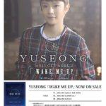 YUSEONG「Wake Me Up」リリースイベント