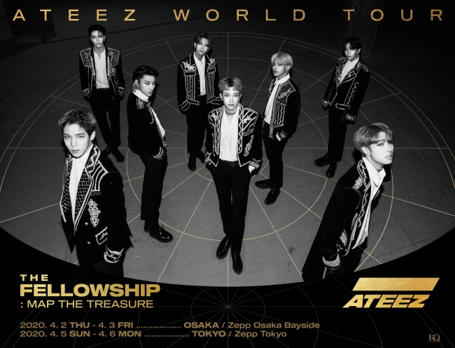 ATEEZ WORLD TOUR 【THE FELLOWSHIP : MAP THE TREASURE】