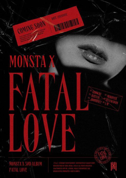 MONSTA X「FATAL LOVE」