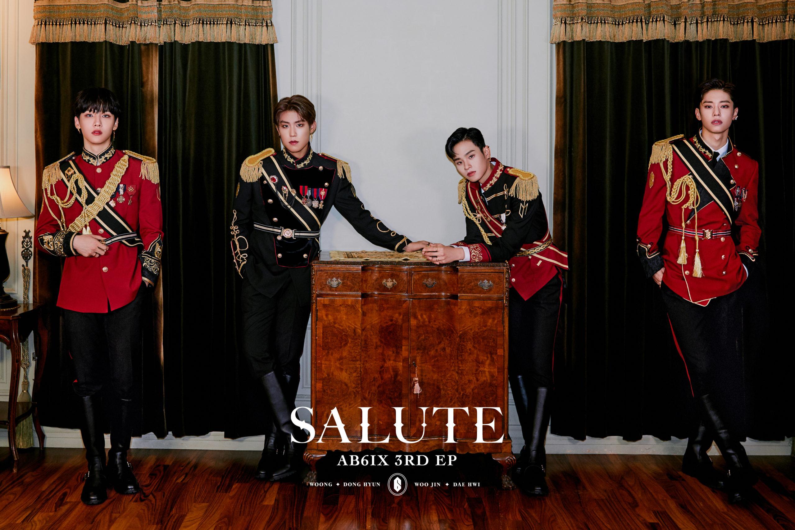 AB6IX 3RD EP 'SALUTE'