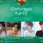 DONGHYUN×HYUNSEONG×JEONGMIN×MINWOO Christmas Party