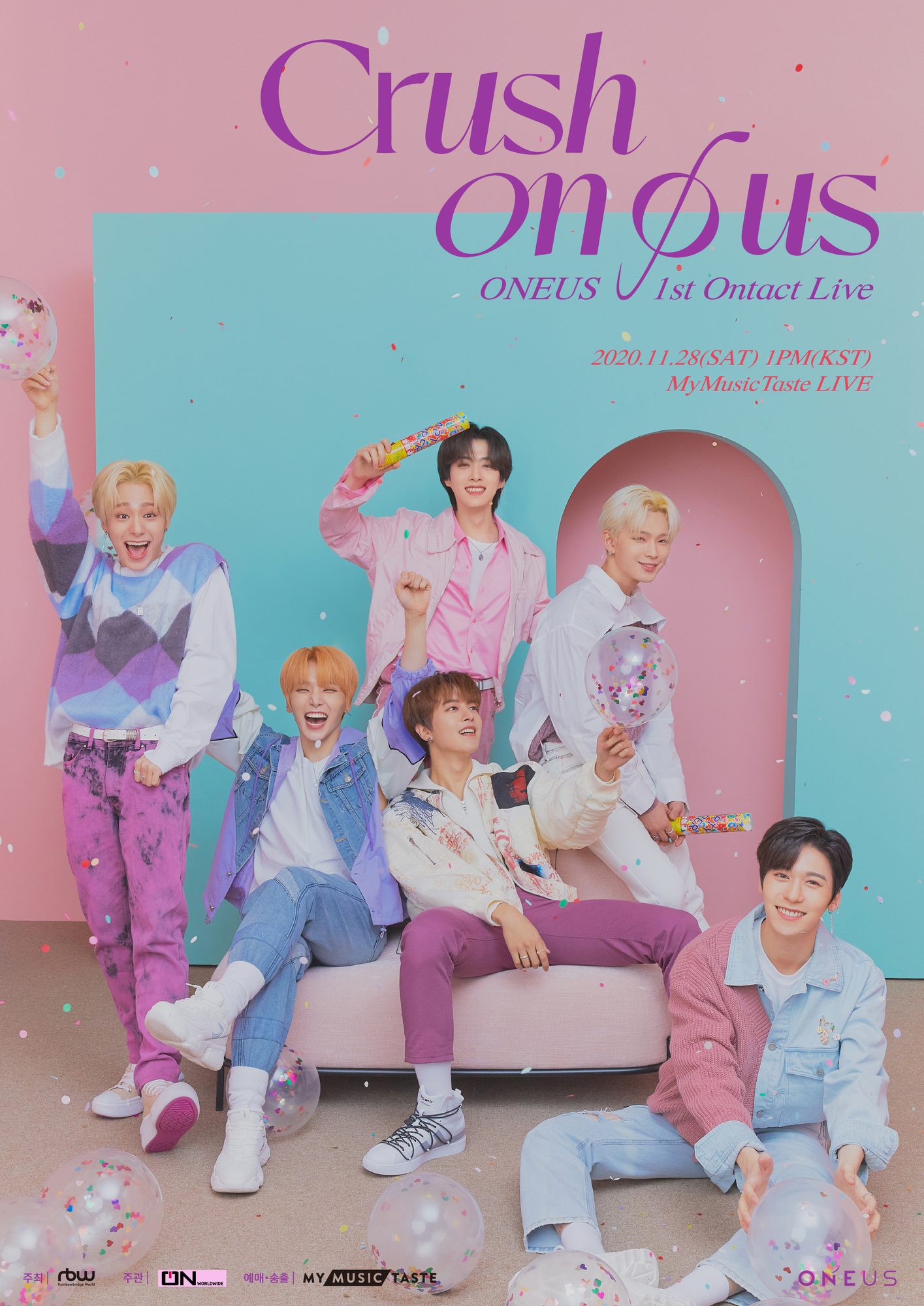 ONEUS 1st Ontact Live [CRUSH ON Ø US]