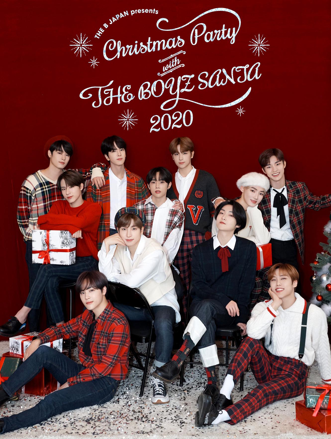 【FC限定】THE B JAPAN presents Christmas Party with THE BOYZ SANTA 2020