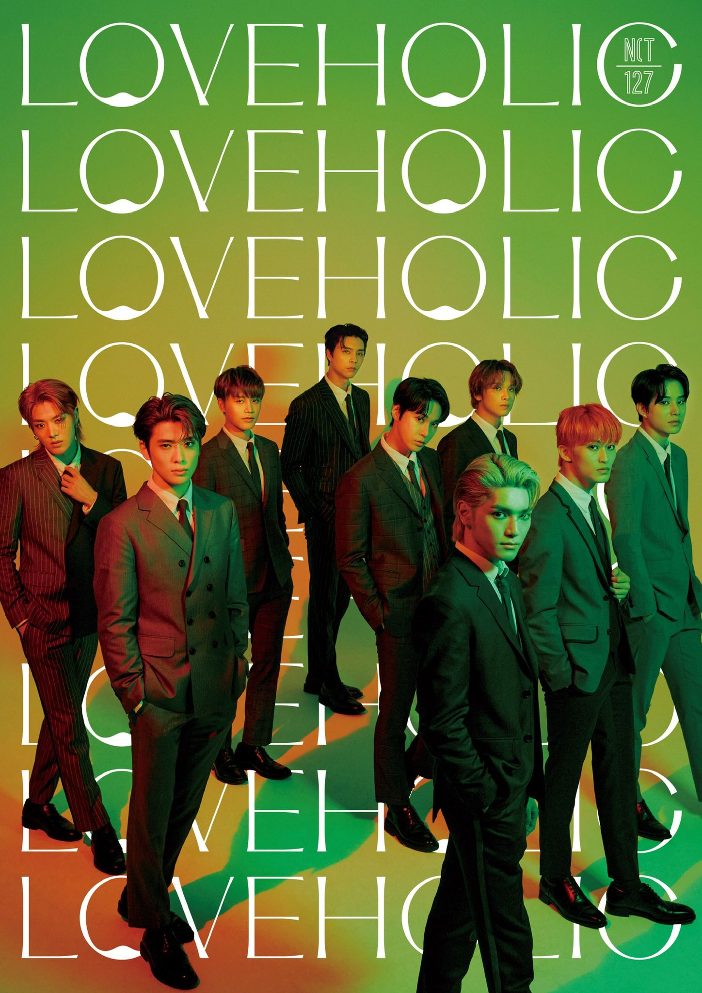 NCT 127 Japan 2nd Mini ALBUM『LOVEHOLIC』
