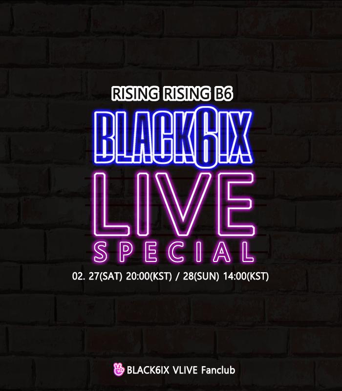 BLACK6IX 'RISING RISING B6'