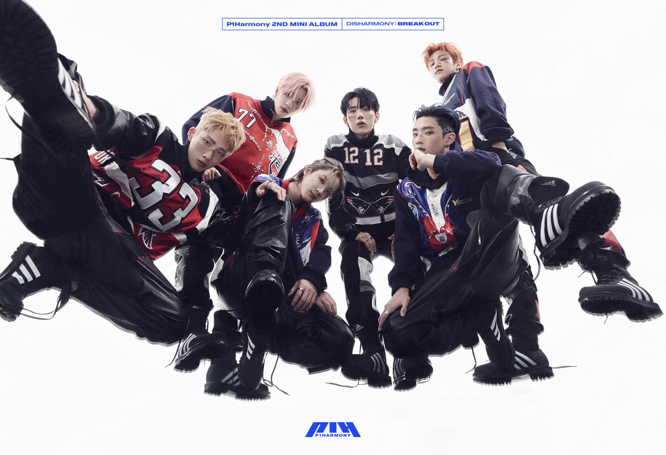 P1Harmony 2nd Mini Album [DISHARMONY : BREAK OUT] テレビ電話のサイン会