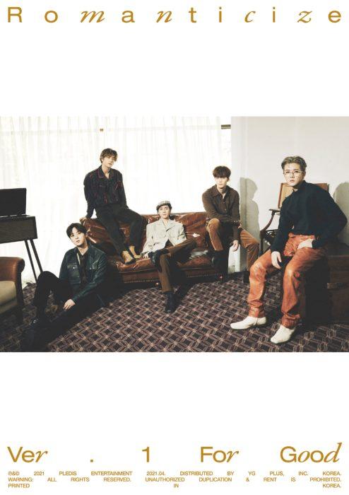 NU'EST 韓国2ndフルアルバム「Romanticize」