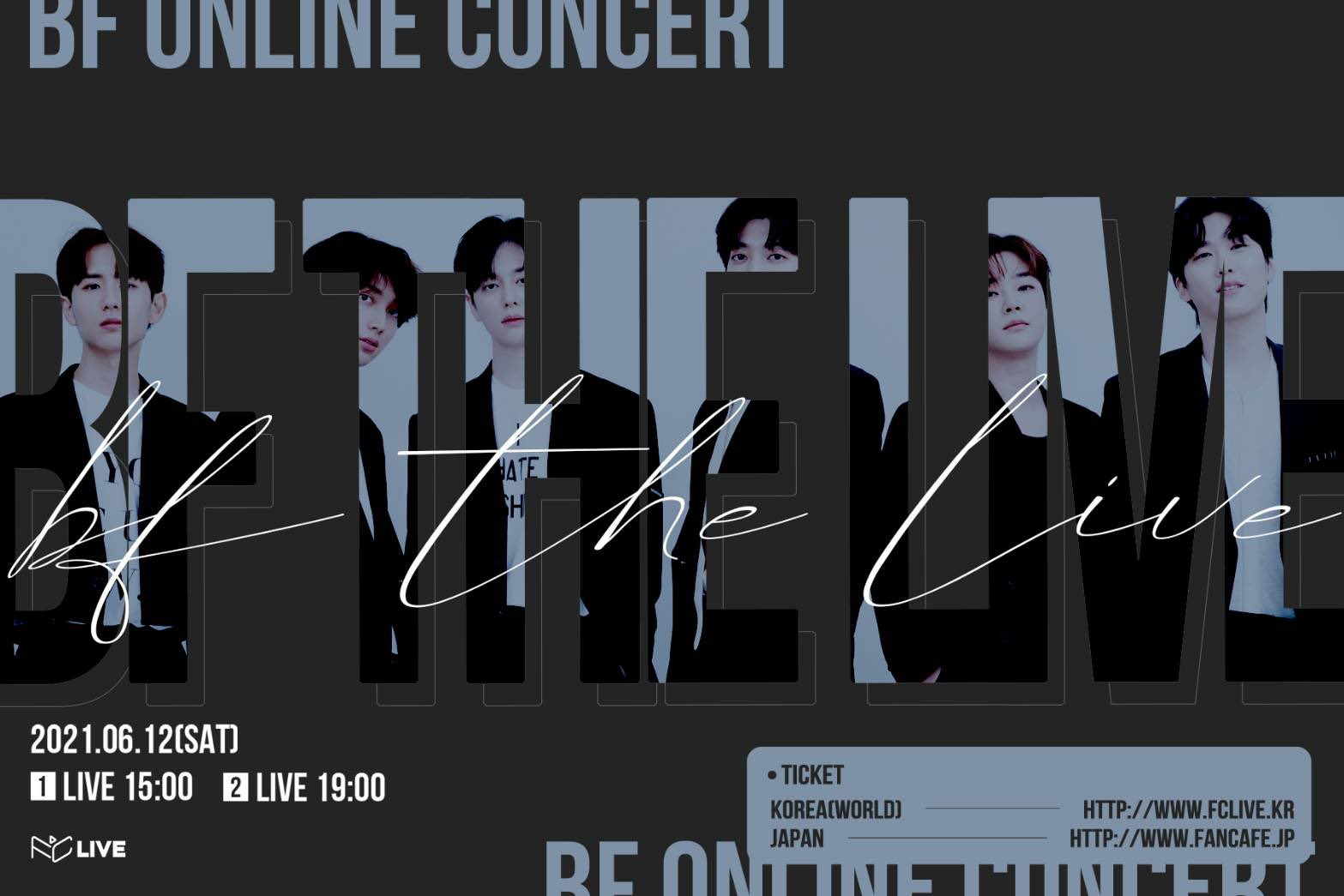 BF ONLINE CONCERT 'BF The Live' [Show 1]