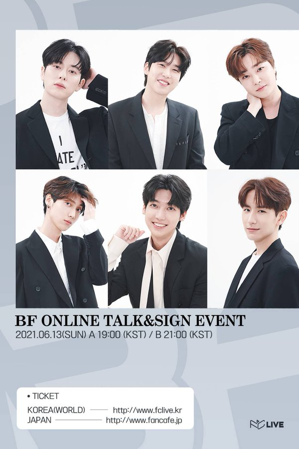 BF ONLINE Talk&Sign EVENT [2部制]