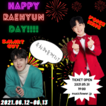 RAEHYUN(Fcuz) HAPPYDAY [1部]