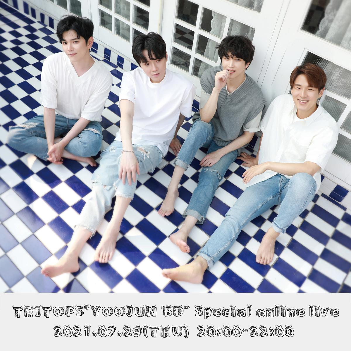"""TRITOPS*""""YOOJUN BD""""Special online live"""