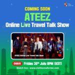 ATEEZ Online Live Travel Talk Show