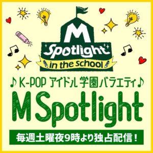 M Spotlight in the school