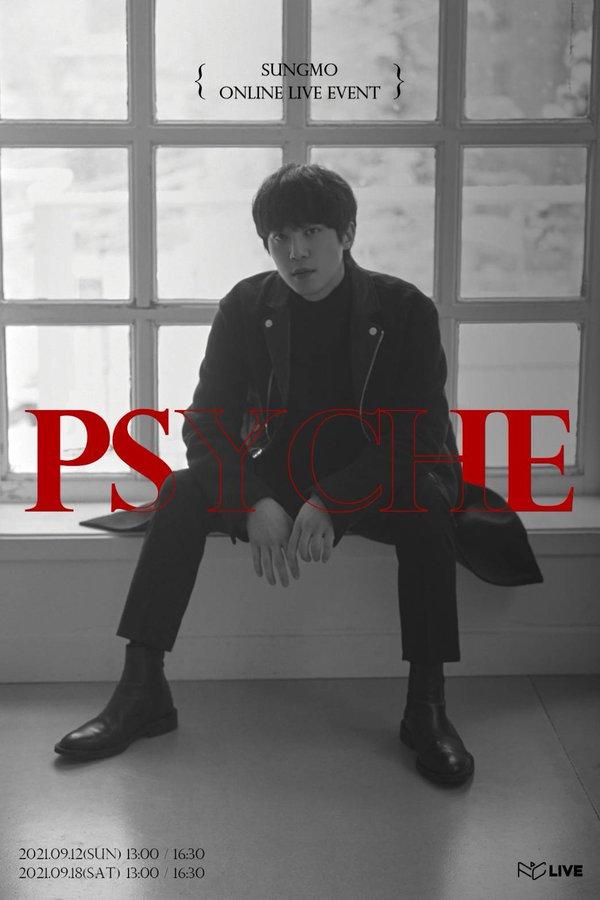 SUNGMO ONLINE LIVE [PSYCHE]  [2部]