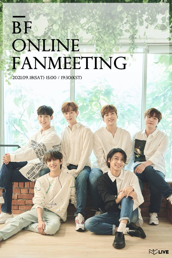 """BF ONLINE FANMEETING """"Let's Go Camping"""" [show1]"""