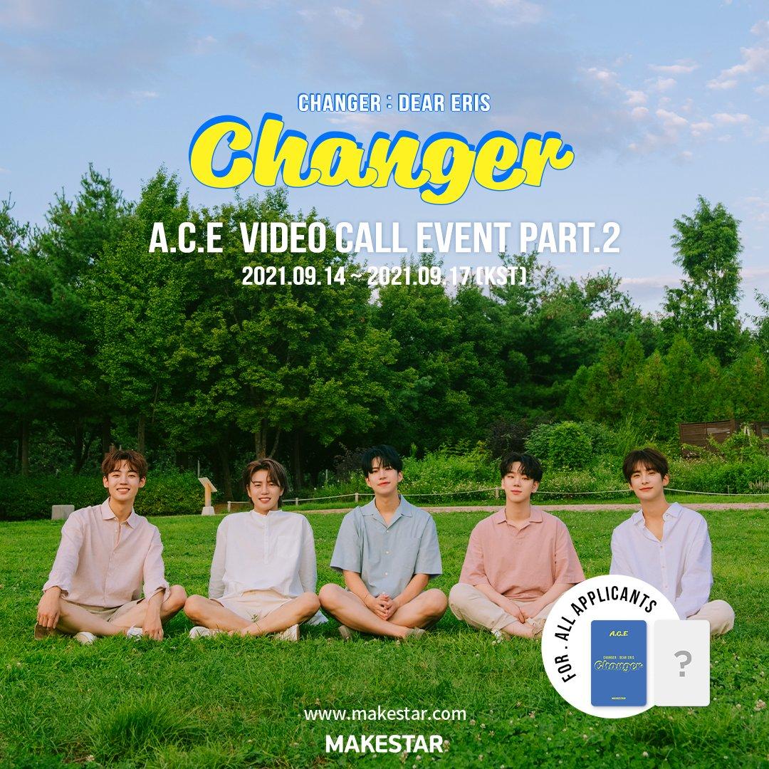 A.C.E [Changer : Dear Eris] Video Call Event Part.2