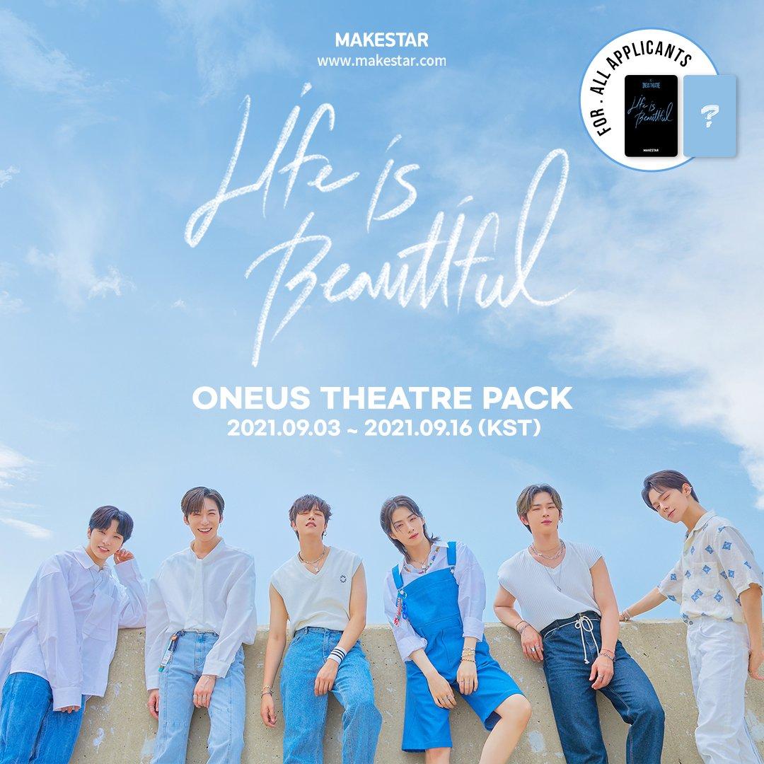 ONEUS THEATRE PACK : Life is Beautiful 購入特典1年9組オンライン学級会(仮)