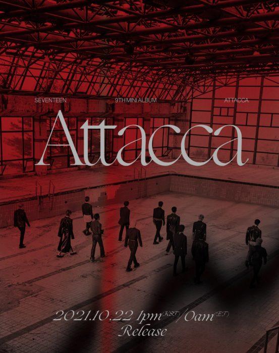 SEVENTEEN 9th Mini Album 「Attacca」