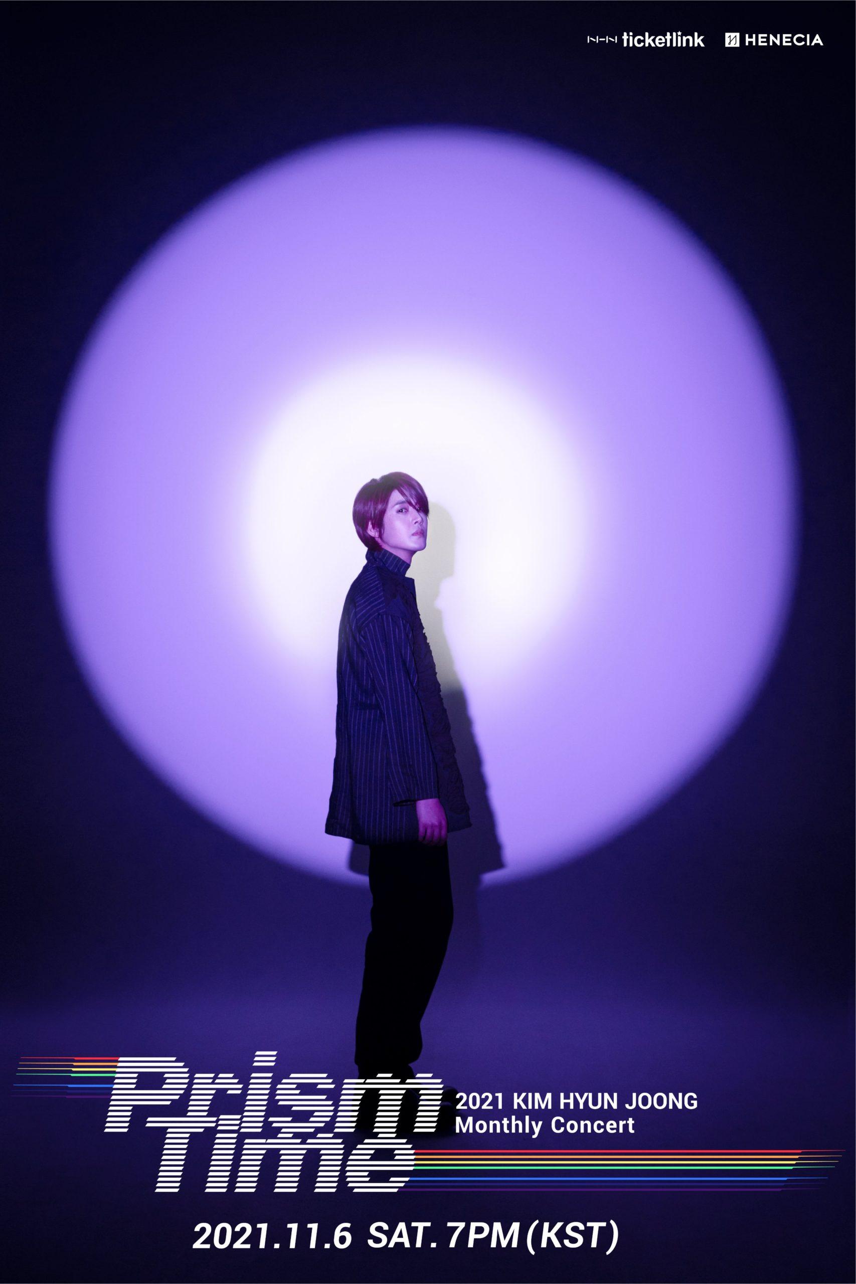 2021 KIM HYUN JOONG Monthly Concert 'Prism Time' Last Concert - Violet