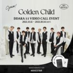 GOLDEN CHILD [DDARA] 1:1 Video Call Event