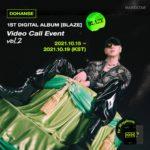 Do Han Se 1st Digital Album [BLAZE] Video Call Event vol.2